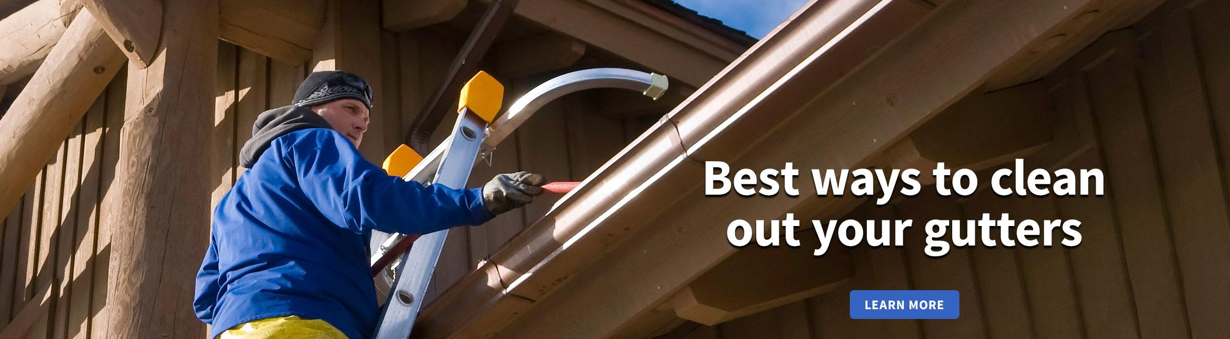 Best Ways to Clean Out Your Gutters