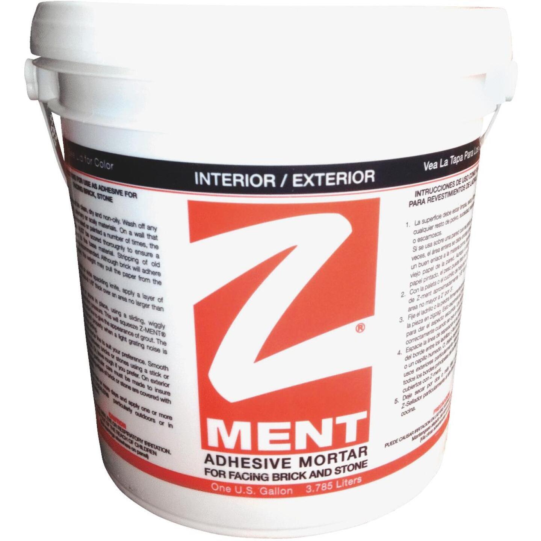 Z-MENT Natural Gray 1 Gal. Brick & Stone Adhesive Mortar Image 1