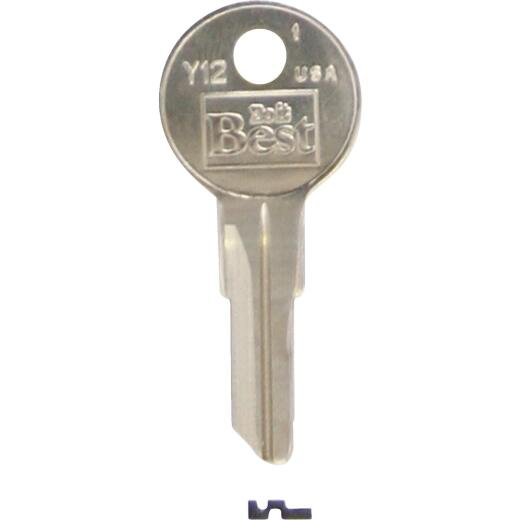 Do it Best Yale Nickel Plated House Key, Y12 (10-Pack)