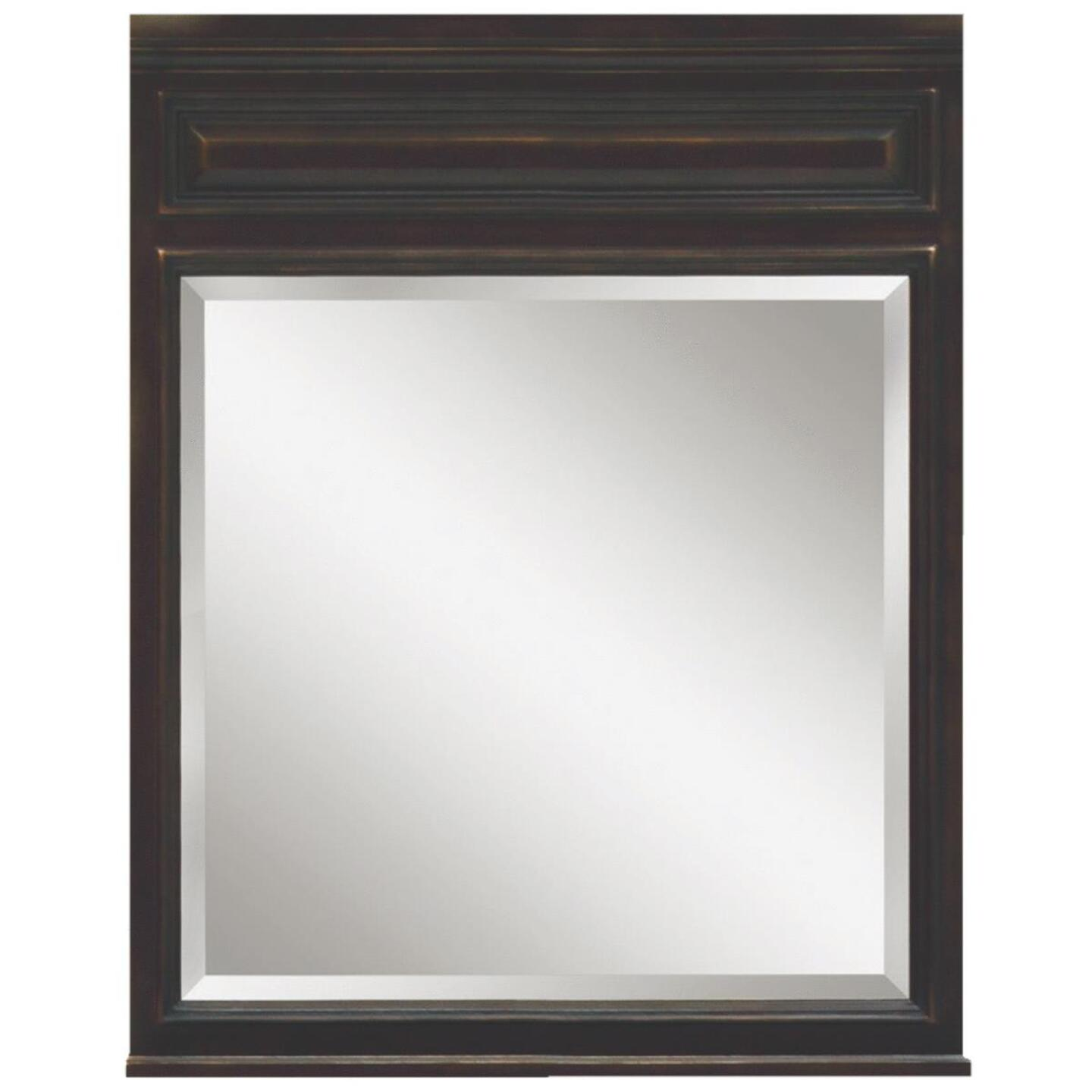Sunny Wood Barton Hill Black Onyx 30 In. W x 38 In. H Vanity Mirror Image 1