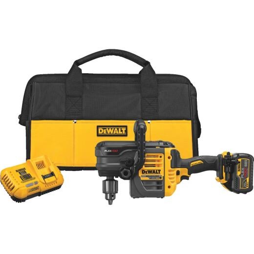 DeWalt Flexvolt 60 Volt MAX Lithium-Ion Brushless 1/2 In. Stud and Joist Cordless Drill Kit with E-Clutch System