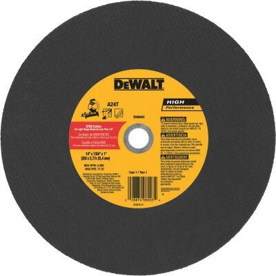 DeWalt HP Type 1 14 In. x 7/64 In. x 1 In. Metal Studs Cut-Off Wheel