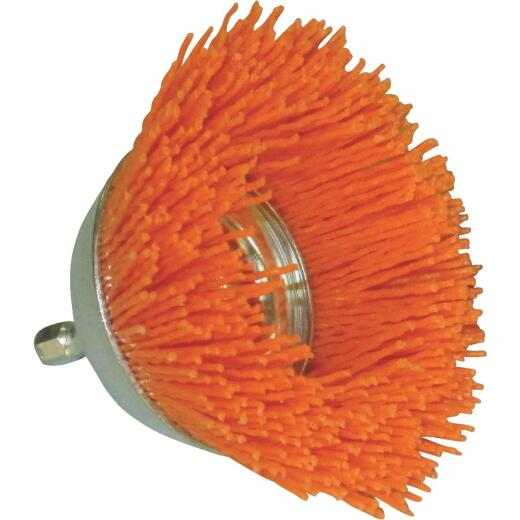 Dico Nylox 2-1/2 In. Coarse Drill-Mounted Wire Brush