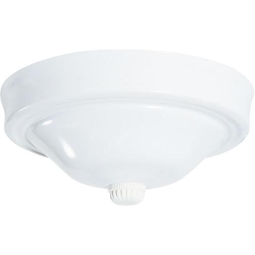 Westinghouse 5-1/8 In. White Blank Ceiling Canopy Kit