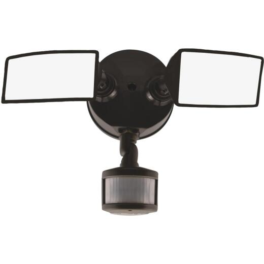 Halo Bronze Square Head Motion Activated LED Floodlight Fixture