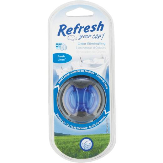 Refresh Your Car Oil Diffuser Car Air Freshener, Fresh Linen