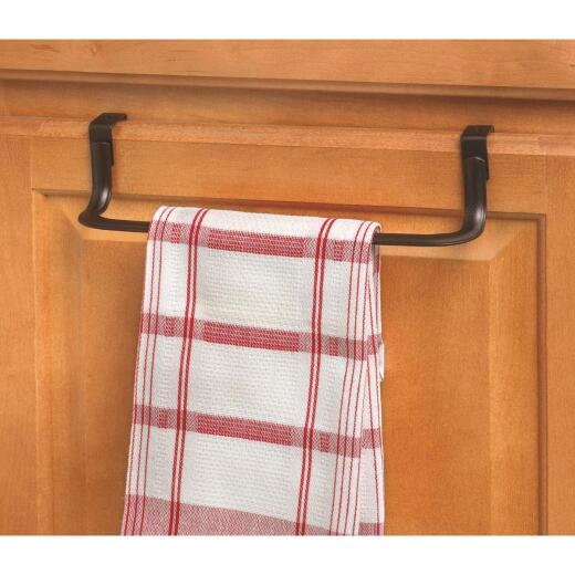 Spectrum 10-1/2 In. Bronze Over The Cabinet Towel Bar
