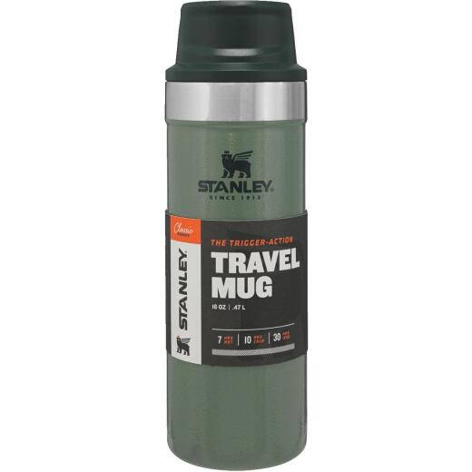 Stanley 16 Oz. Green Stainless Steel Insulated Tumbler
