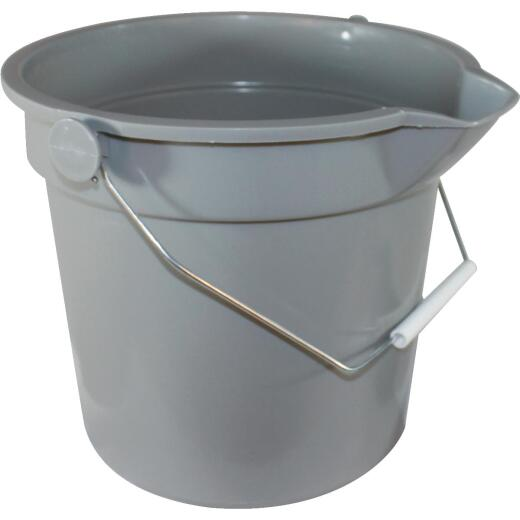 Impact 14 Qt. Gray Heavy-Duty Bucket