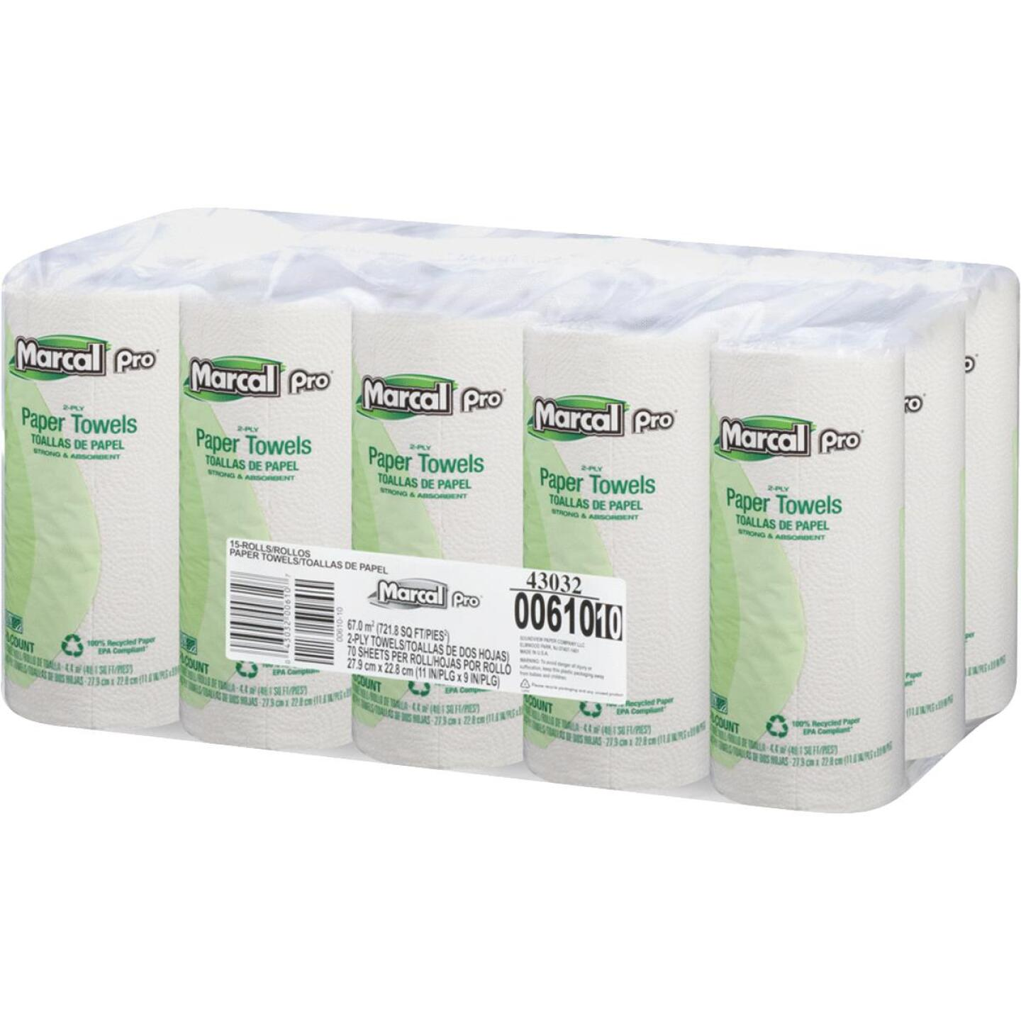 Marcal Pro Recycled Paper Towel (15-Roll) Image 1