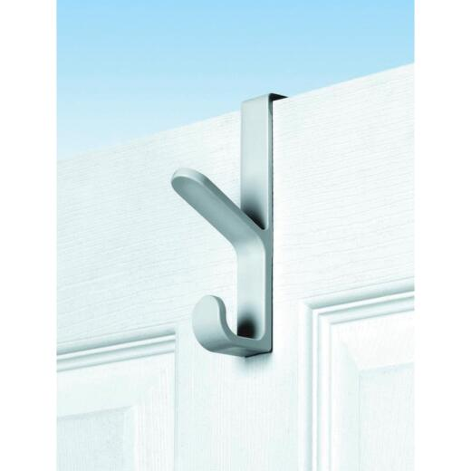 Spectrum White Plastic Over-The-Door Hook, 5-1/2 In.