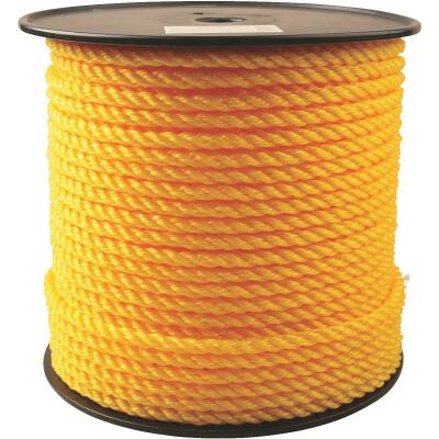 Do it 3/8 In. x 350 Ft. Yellow Twisted Polypropylene Rope