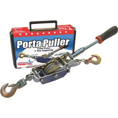 American Power Pull 1/2-Ton to 1-Ton 10 Ft. Cable Puller With Case