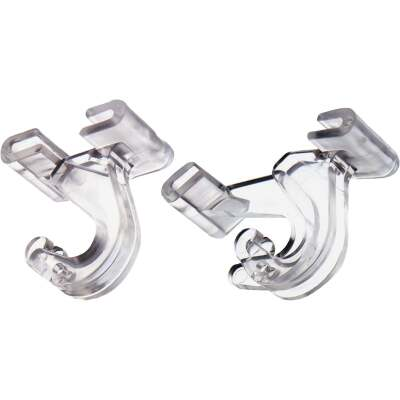 Adams Clear Suspended Ceiling Hook (2 Pack)