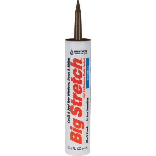 Sashco Big Stretch 10.5 Oz. Woodtone Acrylic Elastomeric Caulk